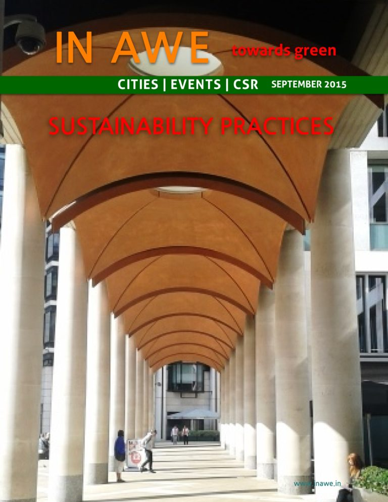 Sustainability Practices In AWE-September 2015