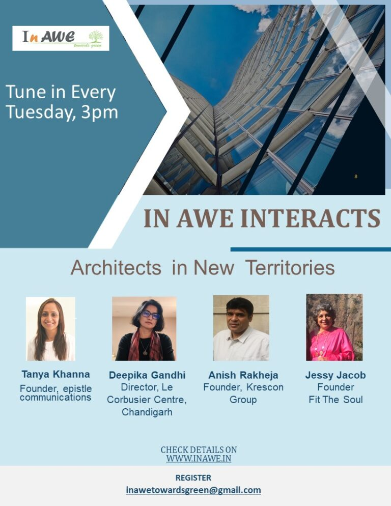In AWE Interacts with Architects in New Territories