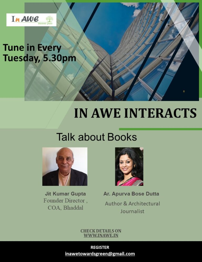 In AWE Interacts- Join us this week to Talk About Books