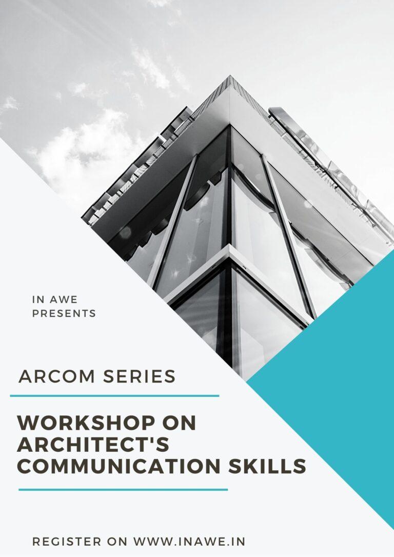 ArCOM Series – Architect's Communication Skills Workshop